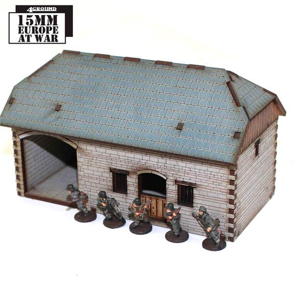 4GROUND - 15S-EAW-122 - Stone coaching stables - 15mm
