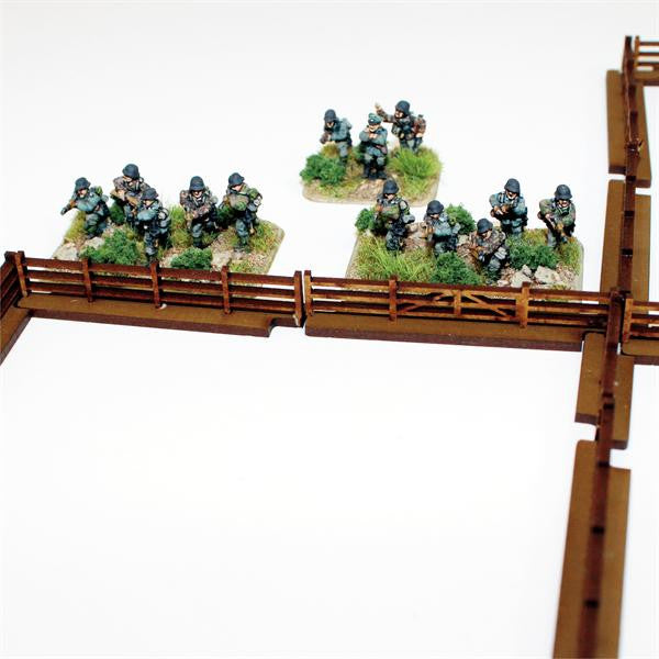 4GROUND - Fencing - 1,5m of fencing for 15mm scale - 15mm - 15S-TAO-102