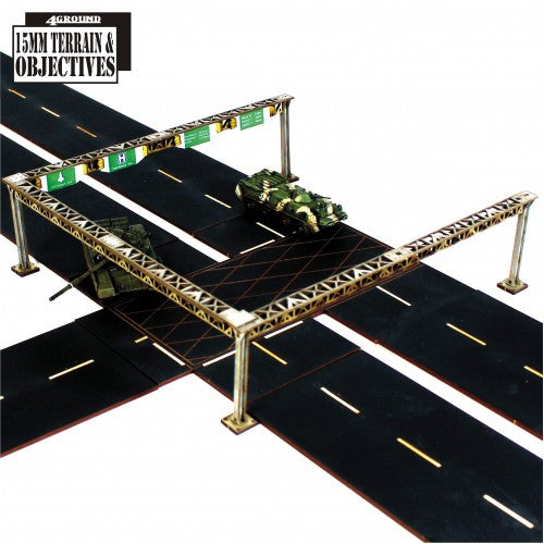 4GROUND - Carriage way gantries - 28mm - 15S-TAO-128