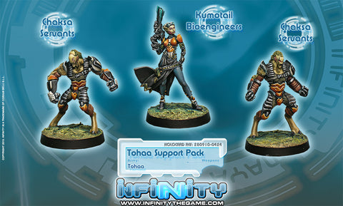 Infinity - Tohaa support pack - 28mm