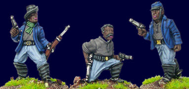 Artizan - Buffalo Soldiers with Pistols (foot) - 28mm