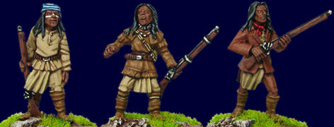 Artizan - Apache's with Rifles (3) - 28mm