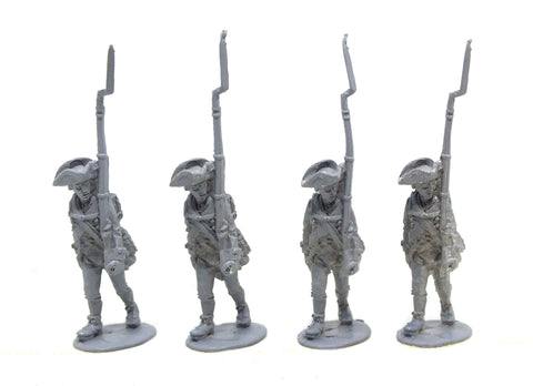 Fife & Drum - Continental marching, breeches and knapsack (x4) - 28mm