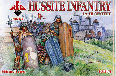 Red Box - Hussite infantry 15th century - 1:72