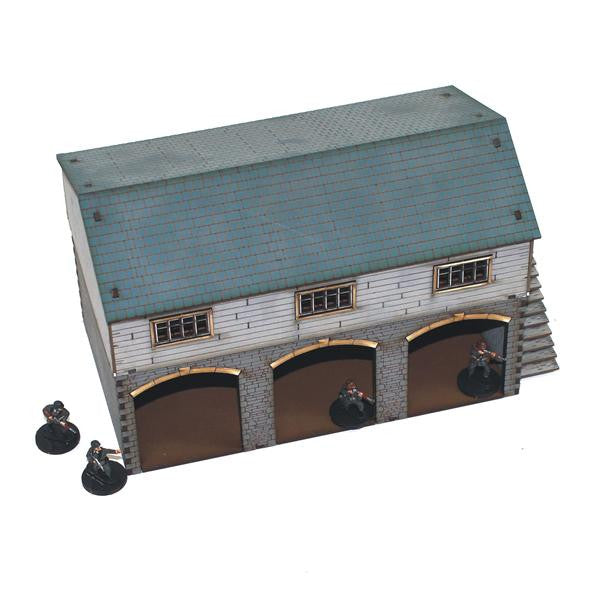 4GROUND - Granary and cart shed - 20mm - 20S-WAW-104