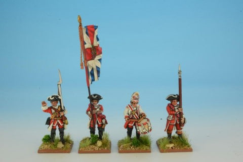 Seven Years War RFH002 - British Infantry Command