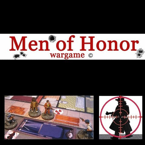 Boardgame - Men of Honor (Gangster, America 1920-1930) - ENGLISH VERSION