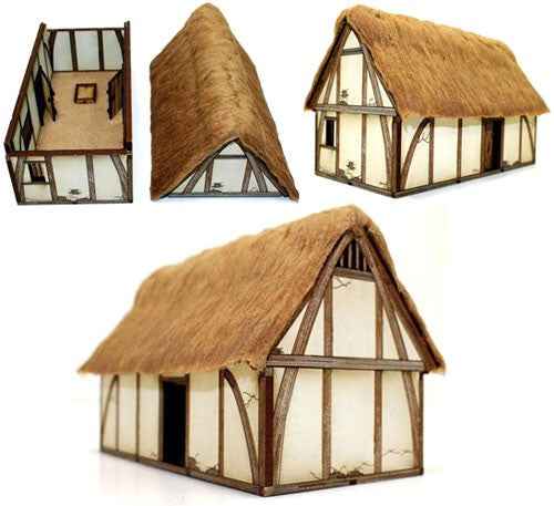 4GROUND - 28S-DAR-101 - Late saxon/High medieval dwelling - 28mm