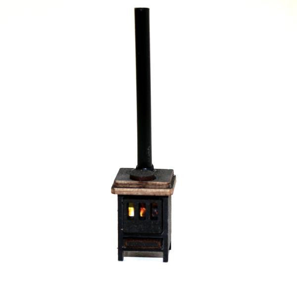 4GROUND - Cast iron stove - 28mm - 28S-FAB-040