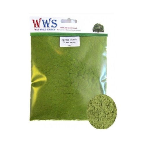 WWS - Static grass - Spring mix (30g.) - 1mm