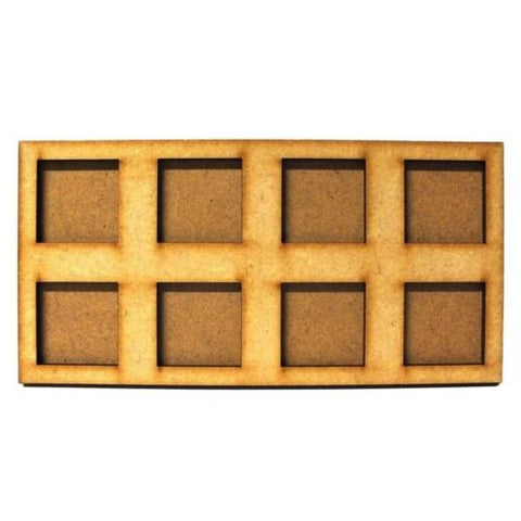 Movement Trays in MDF (7,5cm x 15cm) 8 SLOT (25mm)