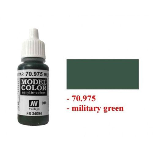 Vallejo Color 70975 - Military green 089
