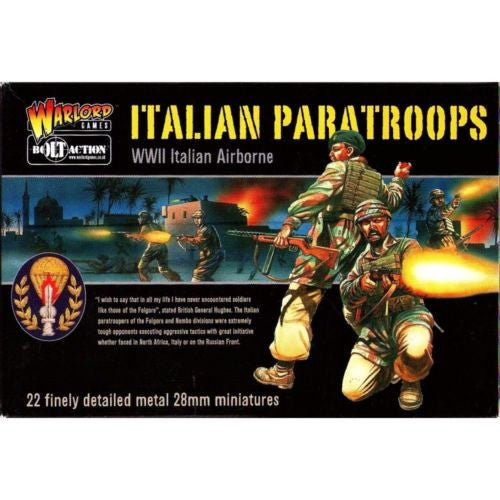 Warlord Games - Bolt Action - Italian paratroops (WWII Italia Airborne) - 28mm