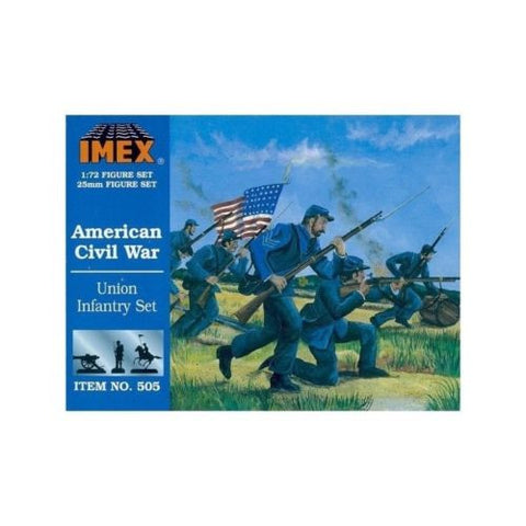 Imex - 505 - Union infantry set (American Civil War) - 1:72