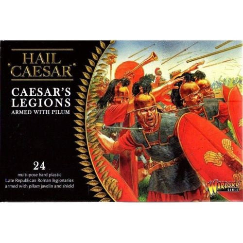 Hail Caesar - WGH-CR-02 - Caesar's legions armed with pilum - 28mm