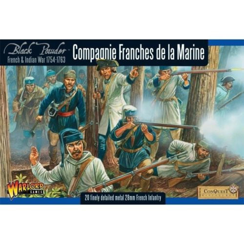 Black Powder - WG7-FIW-04 - Compagnie Franches de la Marine - 28mm