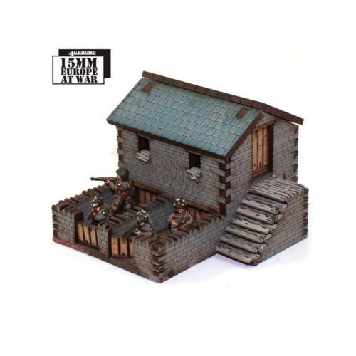 4GROUND - Stone pig stye & chicken coop - 15mm - 15S-EAW-116