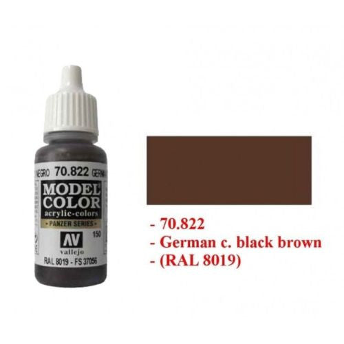 Vallejo Color - German camo black brown 150