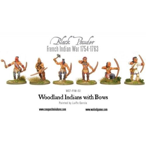 Warlord Games - Black Powder - Woodland Indians with bows - 28mm