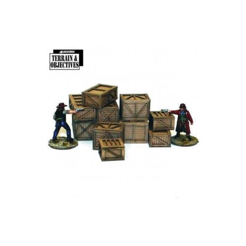 4GROUND - Shipping crates and freight boxes - 28mm - 28S-TAO-124