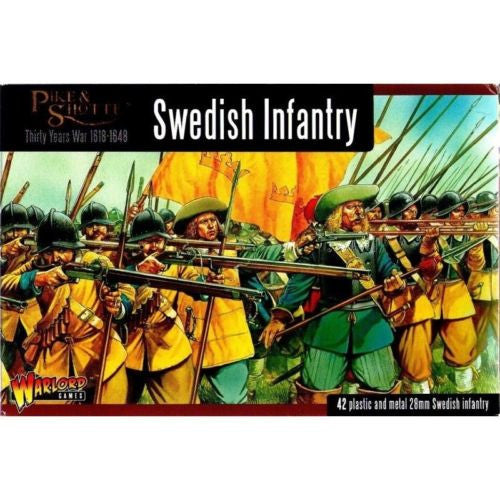 Warlord Games WGP-13 - Pike & Shotte - Swedish infantry - 28mm