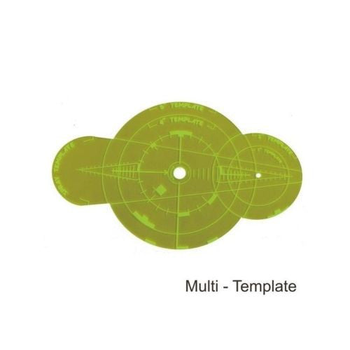 4GROUND - Green Multi Template - MG-TAM-115G