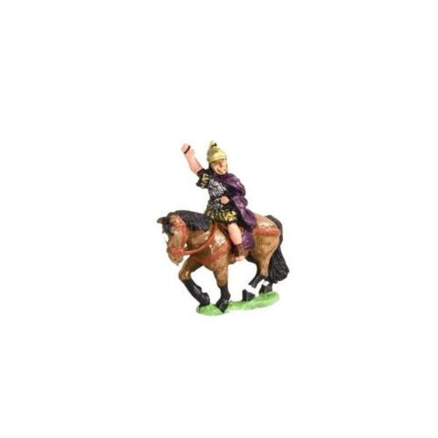 Essex - Camillan Roman: Command. Mounted General - 15mm