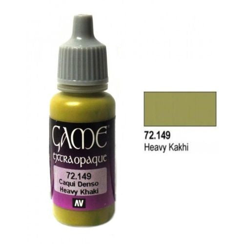 Vallejo Game Color - 72149 - Heavy Khaki - 17ml