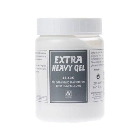 Vallejo - 26535 - Extra heavy gel - 200ml