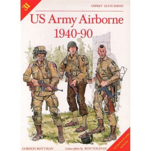 Osprey - Elite Series - N.31 - US army airborne 1940-90