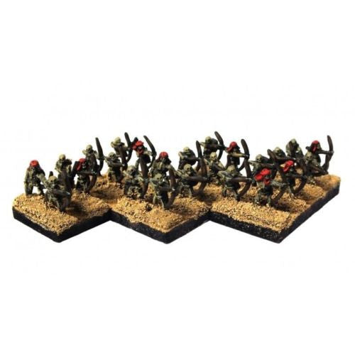Warmaster - Undead Skeleton Bowmen - 10mm (Type 2)