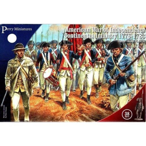 Perry - American war of independence continental infantry 1776-1783 - 28mm