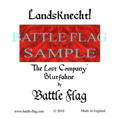 Battle Flag - Blutfahne (Renaissance & Landsknecht) - 28mm
