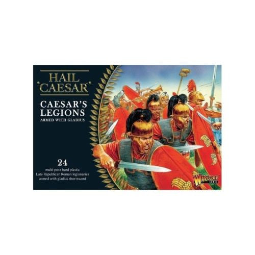Hail Caesar - Caesar's legions armed with gladius - 28mm
