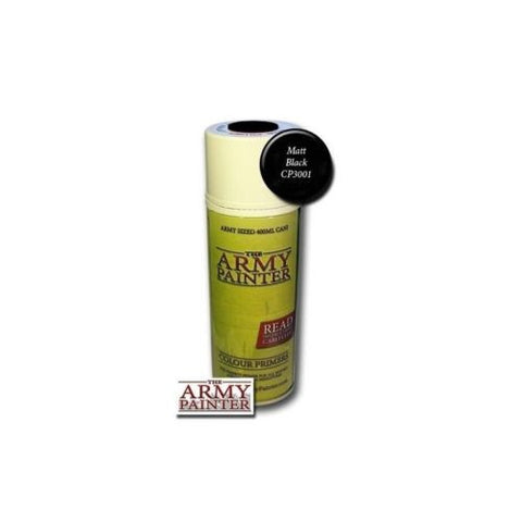 The Army Painter - Base primer Matt black - 400ml