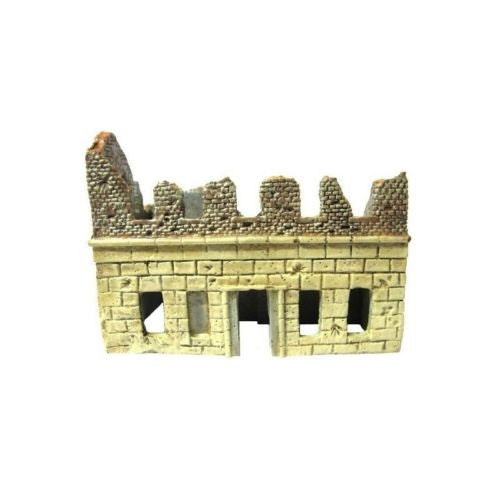Hovels 16B - Ruined building - 20mm - PAINTED