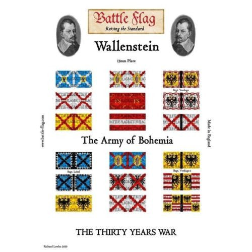 Battle Flag - Wallenstein's Army of Bohemia (Thirty Years War) - 15mm