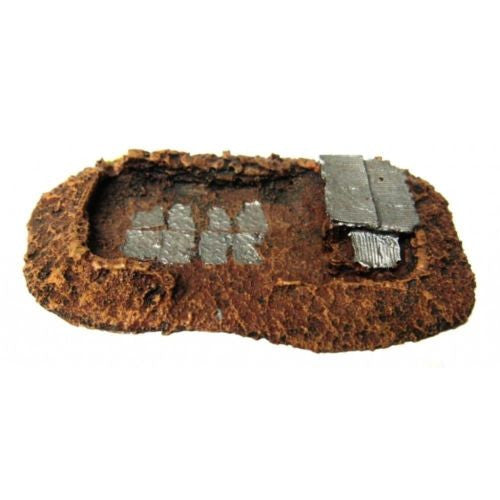 Scenery - Wargame - Anti-Tank Gun Position - 28mm - ES161 -  USED