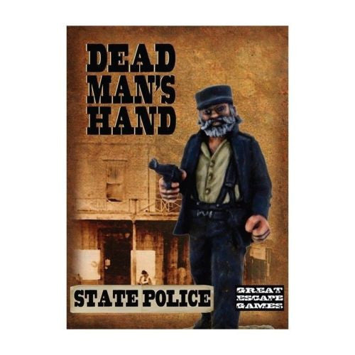 Great Escape Games - Dead Man's Hand - State Police - 28mm