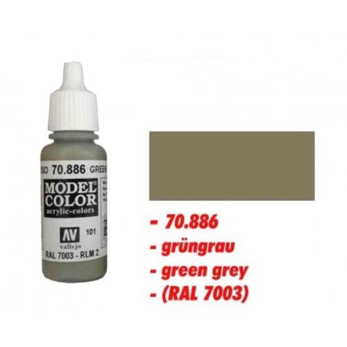 Vallejo Color - 70886 - Green grey 101 - 17ml