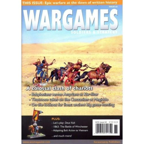 Magazines - SOLDIERS & STRATEGY - ISSUE 65 - a colossal clash of chariots
