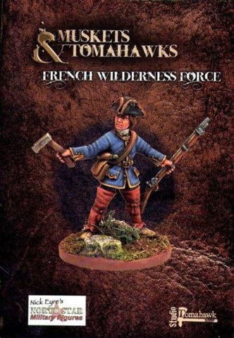 Muskets and Tomahawks - French Wilderness Force - 28mm