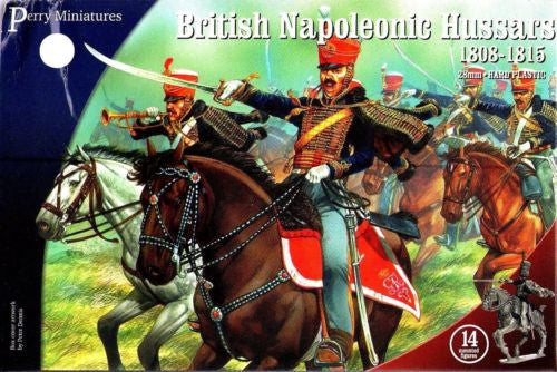Perry - BH80 - British napoleonic hussars 1808-1815 - 28mm
