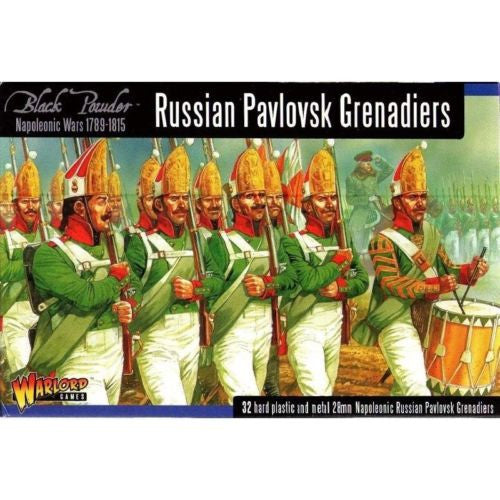 Warlord Games - WGN-RUS-03 - lack Powder - Russian pavlovsk grenadiers - 28mm