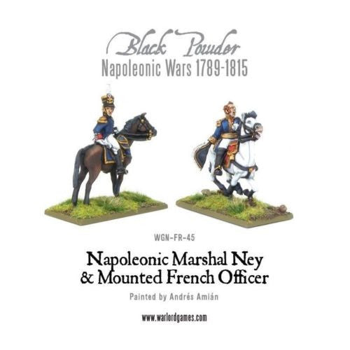 Warlord Games - Black Powder -blister- Marshal ney & Mounted french brigade officer - 28mm
