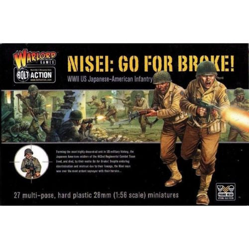 Warlord Games - Bolt Action - Nisei: Go for broke! - 28mm