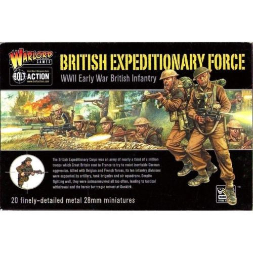 Bolt Action - WGB-BI-05 - British expeditionary force (WWII Early war) - 28mm