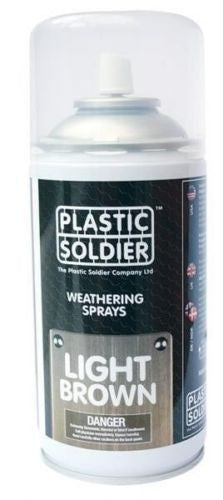 Plastic soldier - Light Brown Weathering Spray - 250ml