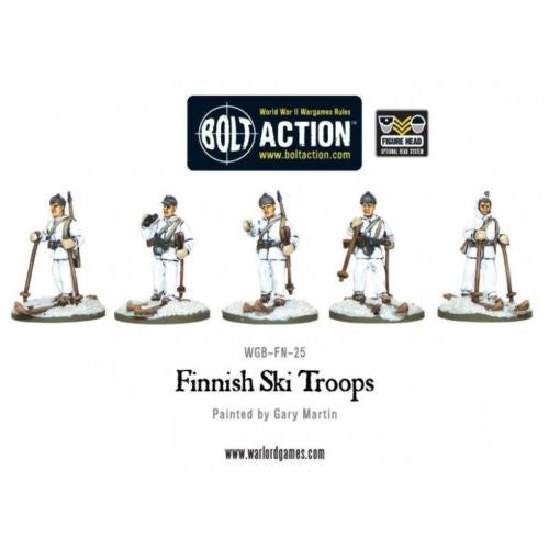 Warlord Games - Bolt Action - Finnish Ski Troops - 28mm