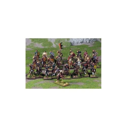 Gripping Beast - SAGA - Strathclyde Welsh Warband (4 Points) - 28mm